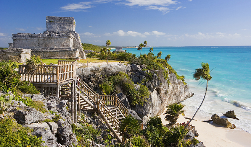 The Archaeological Zone of Tulum