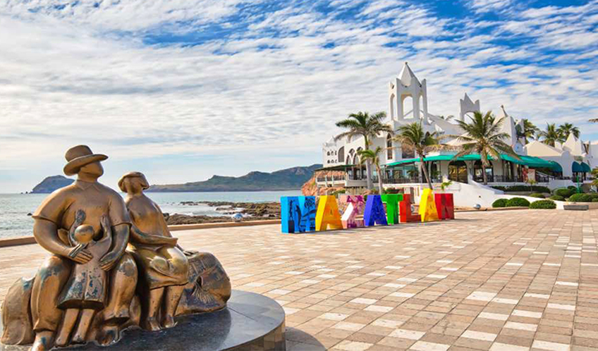 Malecon of Mazatlan