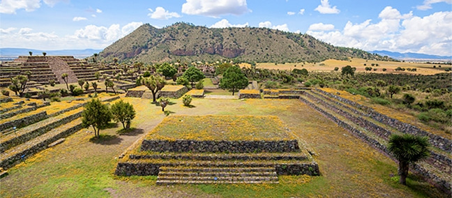 Archaeological Zone Cantona, Puebla