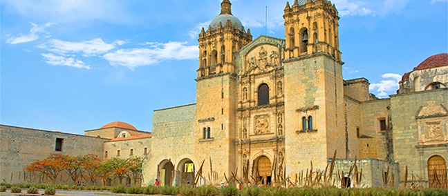 Church and Former Monastery of Santo Domingo, Oaxaca